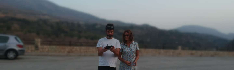 Pablo Cirre Volando un Dron